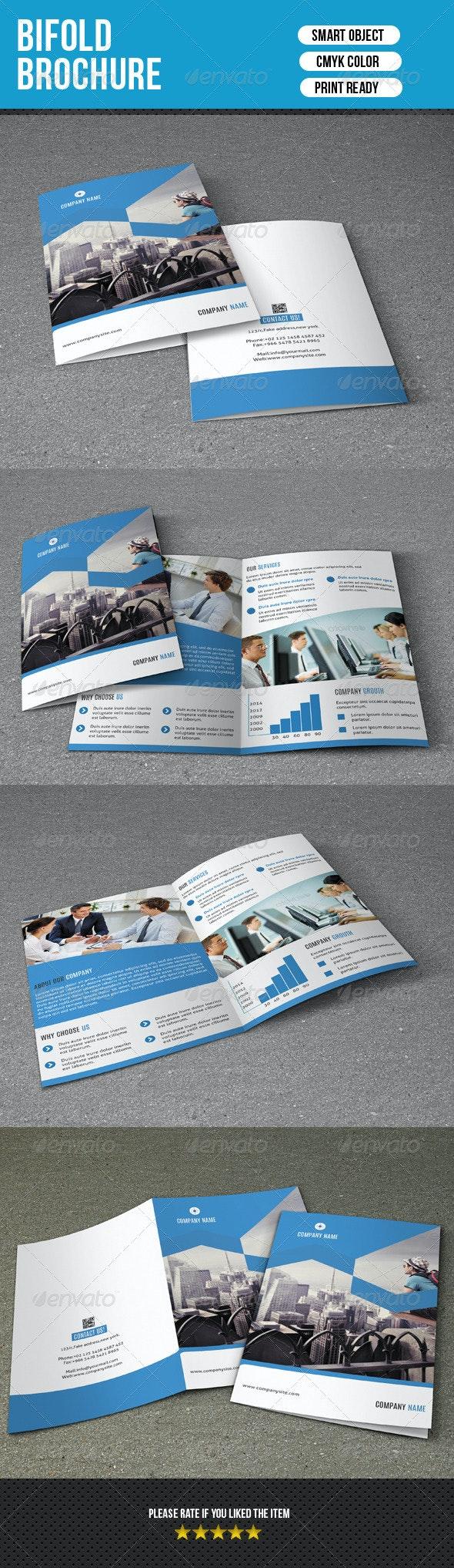 Bifold Business Brochure-V117 - Corporate Brochures