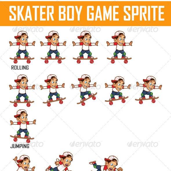 Skater Boy Game Sprite