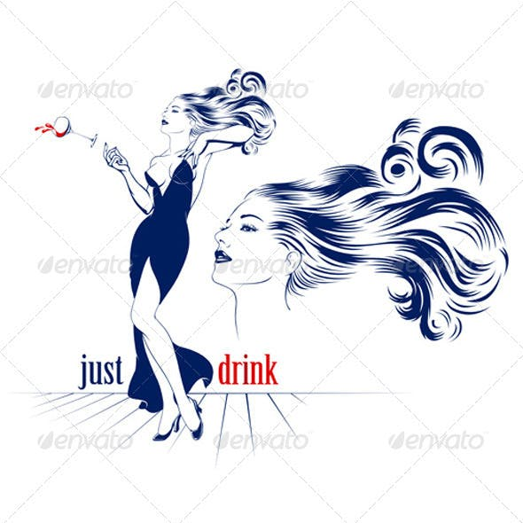Cocktail Drink Woman