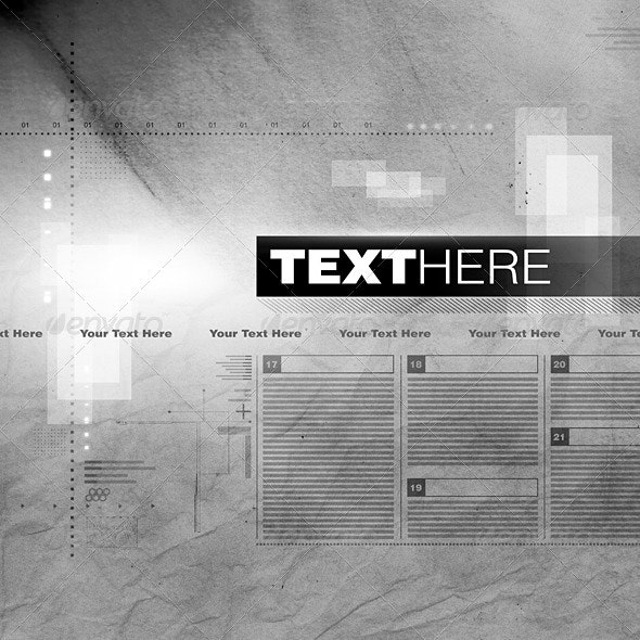 Newspaper Style Background - Tech / Futuristic Backgrounds