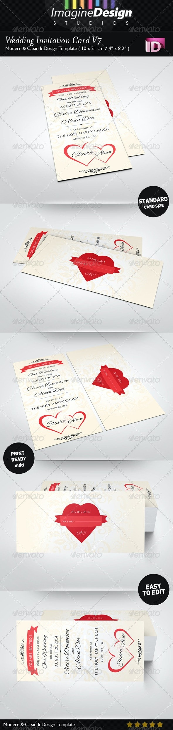 Wedding Invitation Card V7 - Weddings Cards & Invites