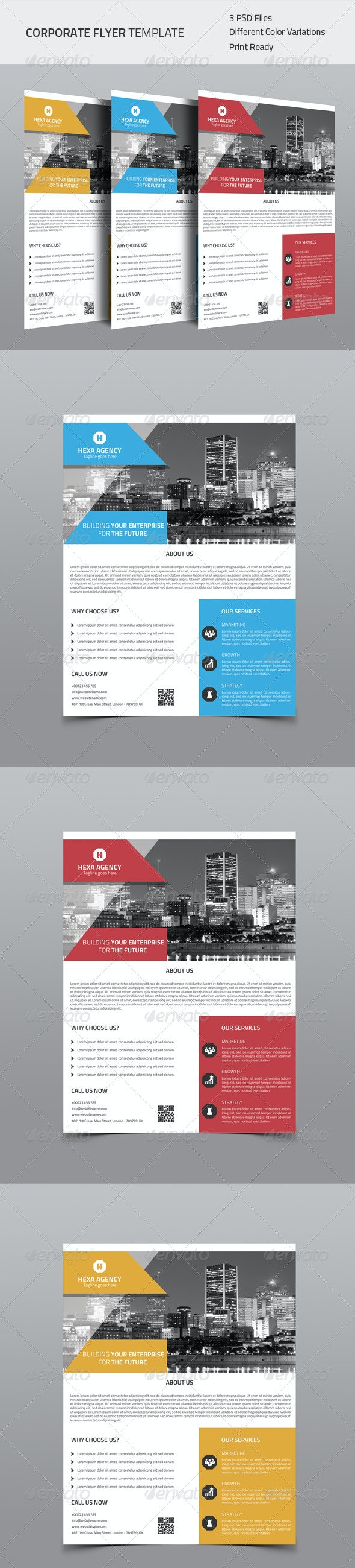 Corporate Flyer 04 - Corporate Flyers