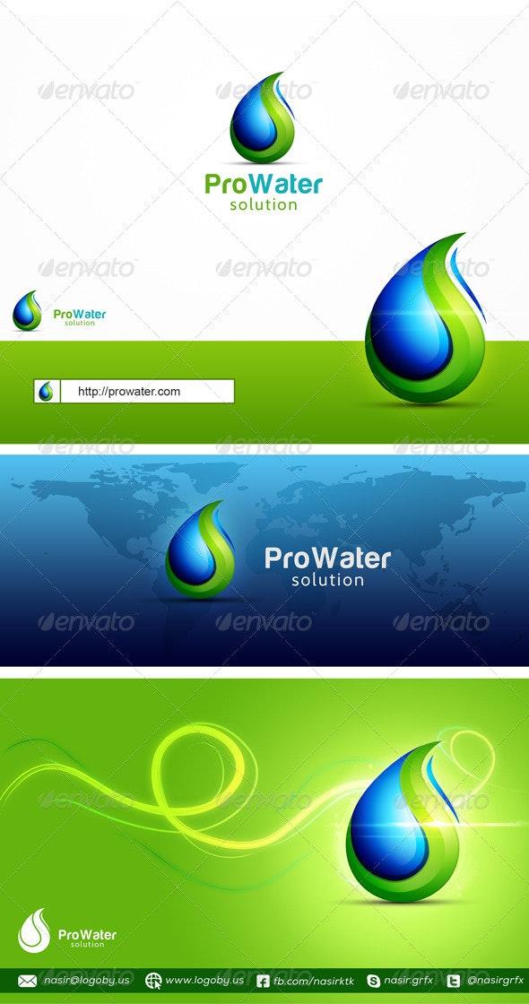 Eco Water - Nature Logo Templates
