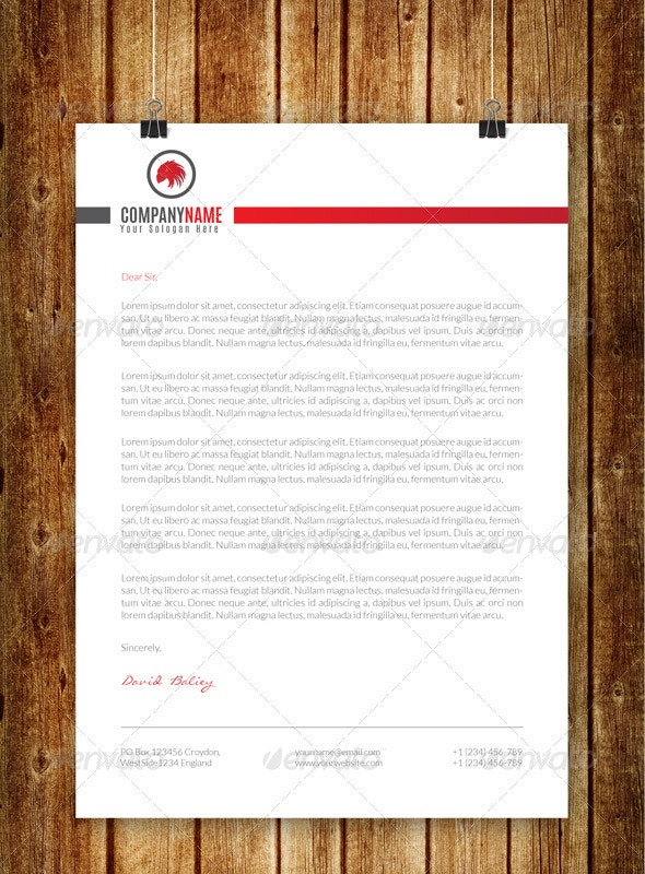 Creative Corporate Letterhead V3 - Stationery Print Templates