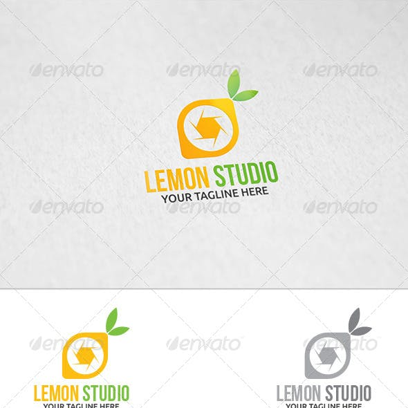 Lemon Studio - Logo Template