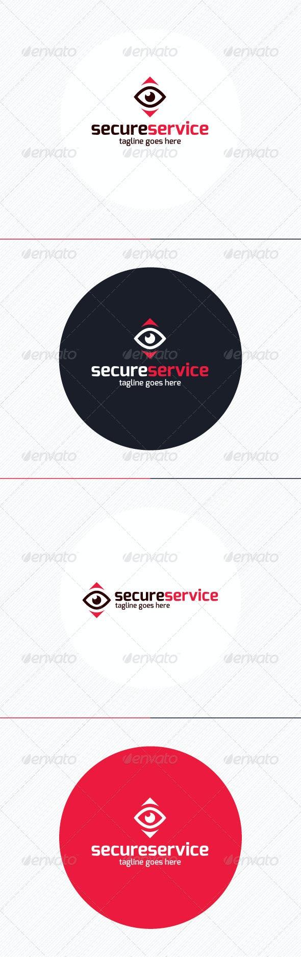 Secure Service Logo - Symbols Logo Templates