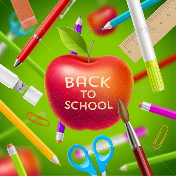 Back to School Illustration - Conceptual Vectors