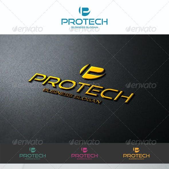 P Logo Shape - Pro Tech