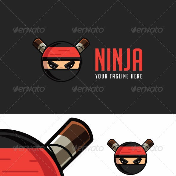 Ninja Logo Template
