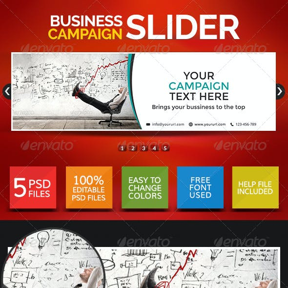 Business Sliders