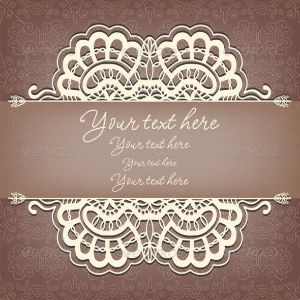Lace Background - Abstract Conceptual
