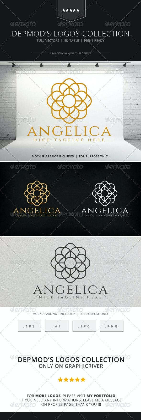 Angelica Logo - Crests Logo Templates