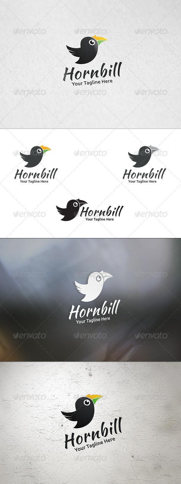 Hornbill - Logo Template - Animals Logo Templates