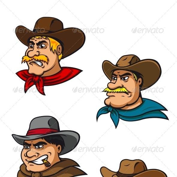 Cartoon Cowboy Characters