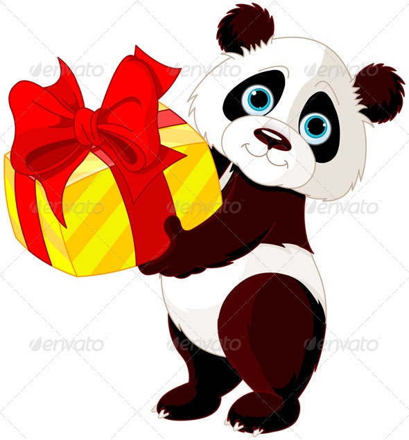 Panda's Birthday - Animals Characters