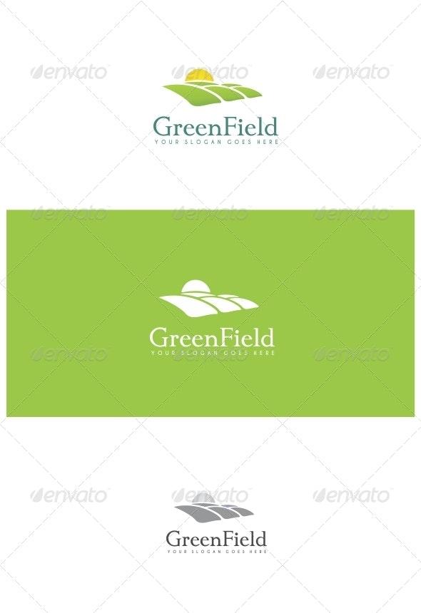 Green Field - Nature Logo Templates