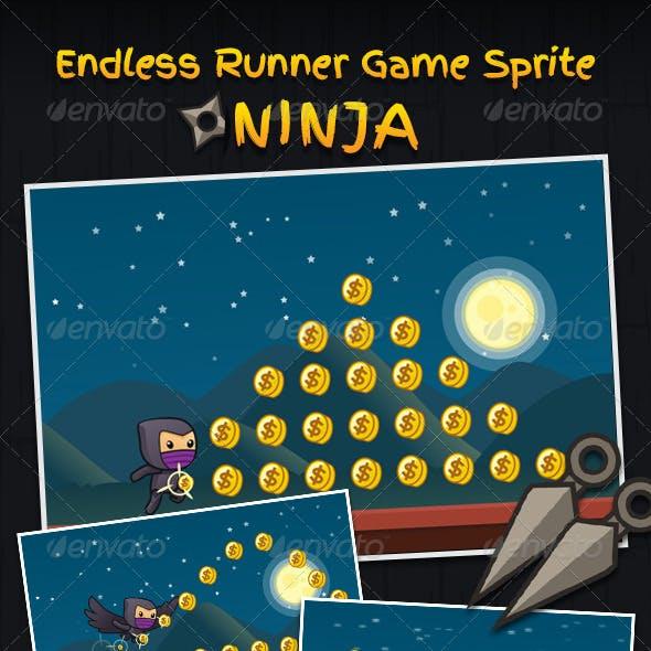 Endless Runner Game Sprite - Ninja