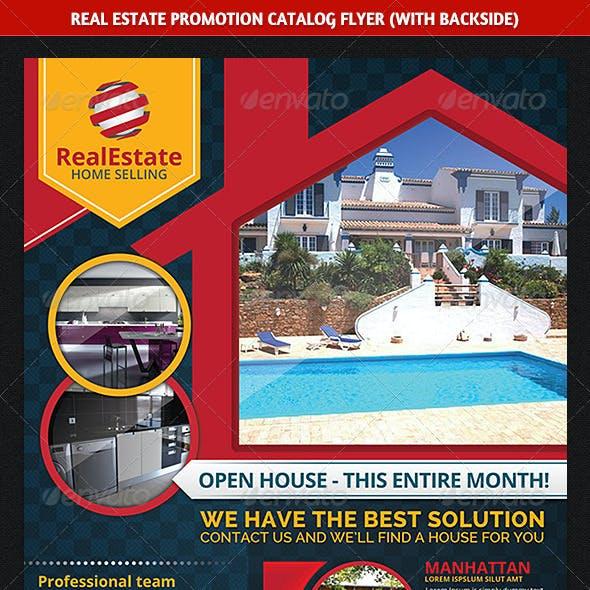 Real Estate Promotion Catalog Flyer