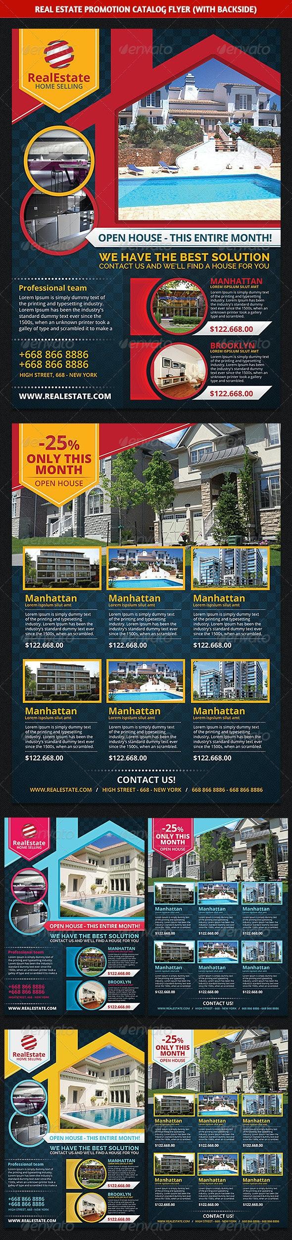 Real Estate Promotion Catalog Flyer - Commerce Flyers