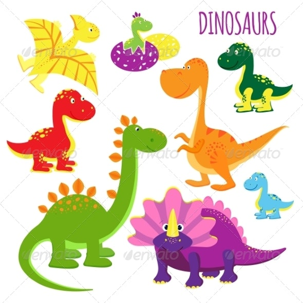Baby Dinosaurs - Animals Characters