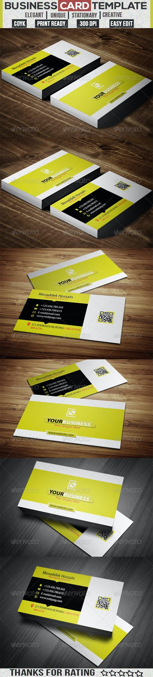 Creative Business Card v-3 - Creative Business Cards