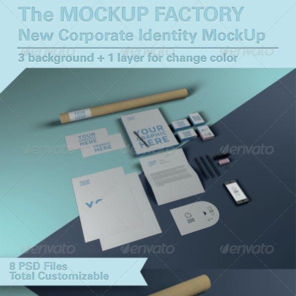 Photorealistic Brand Identity MockUp