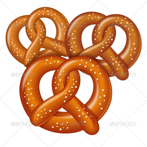 Pretzels - Food Objects