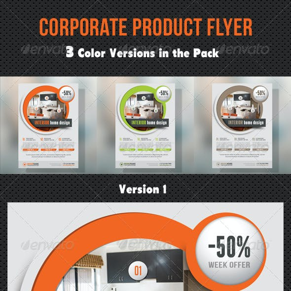Corporate Product Flyer 98