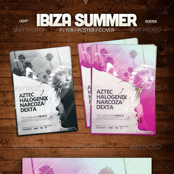 Ibiza Summer Poster