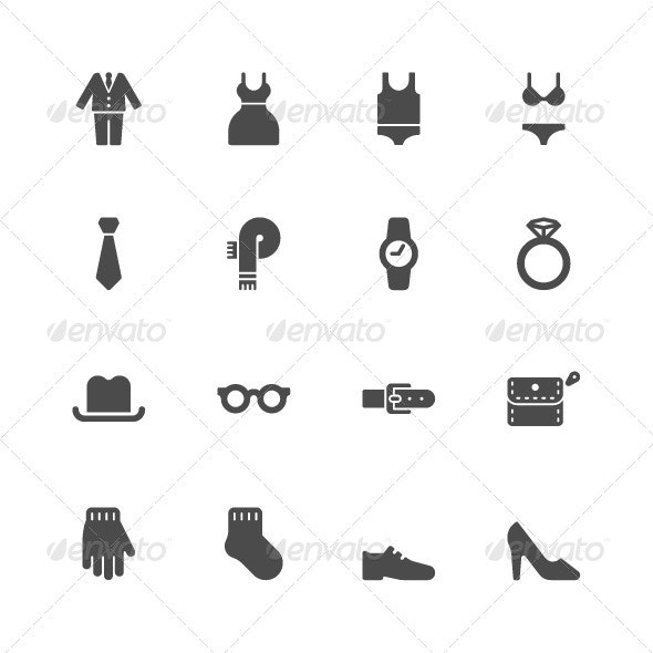 Clothes Icons - Miscellaneous Icons