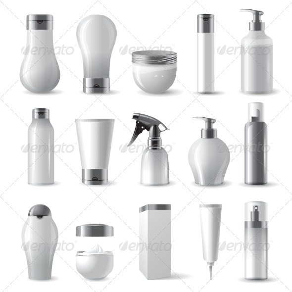 cosmetics package - Man-made Objects Objects