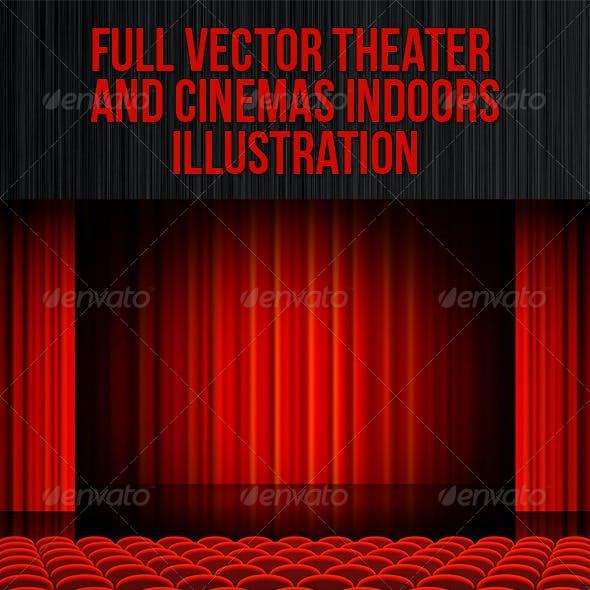 Red Cinema Theatre Indoors