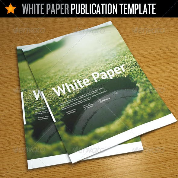 White Paper - Corporate Publication Template