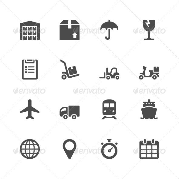 Logistic Icons  - Business Icons