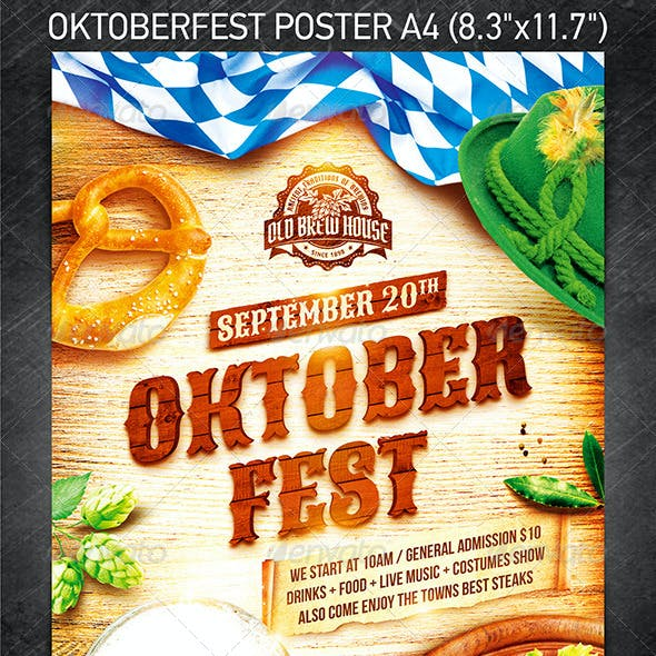 Oktoberfest Festival Poster vol.3