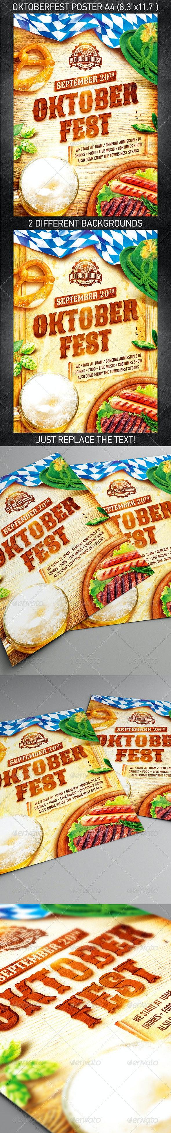 Oktoberfest Festival Poster vol.3 - Holidays Events