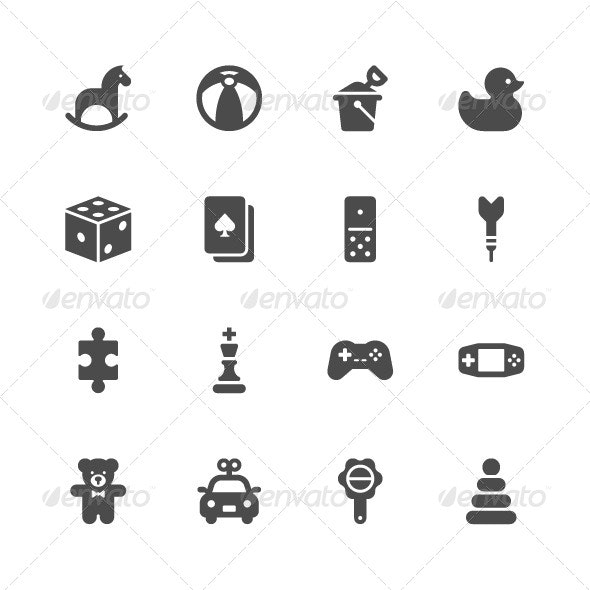 Toy Icons  - Miscellaneous Icons