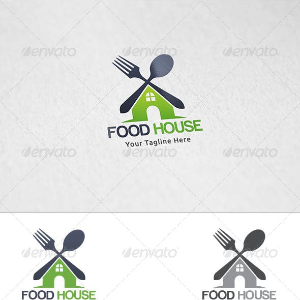 Food House - Logo Template