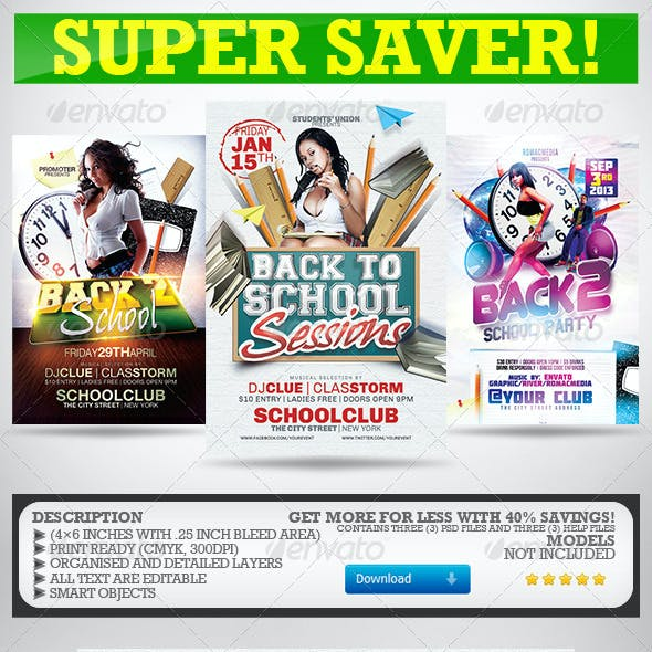 Back to School Party Super Bundle