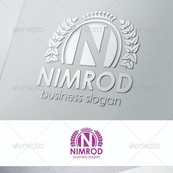 N Fashion Crest - Nimrod Logo Template