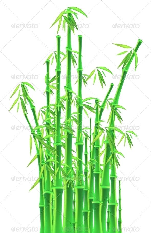 bamboo Sticks - Backgrounds Decorative