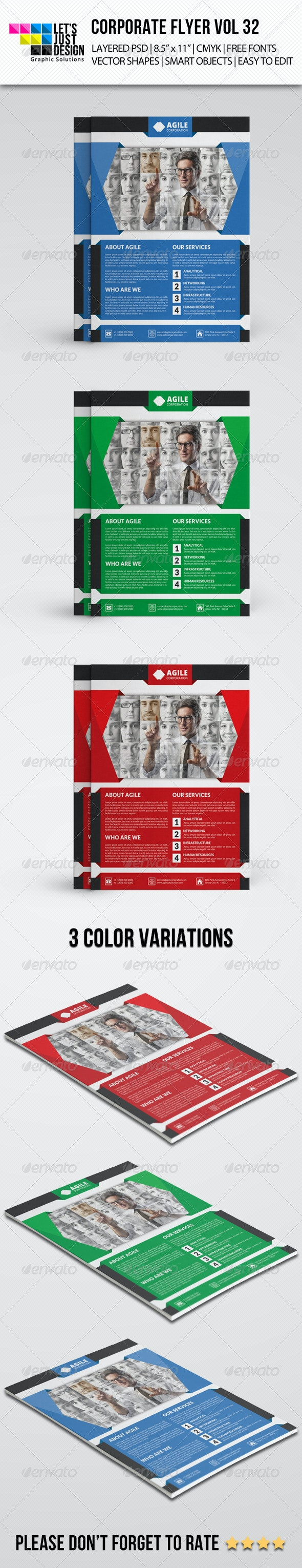 Corporate Flyer Template Vol 32 - Corporate Flyers