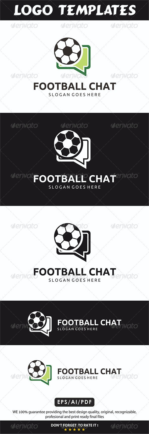 Football Chat Logo