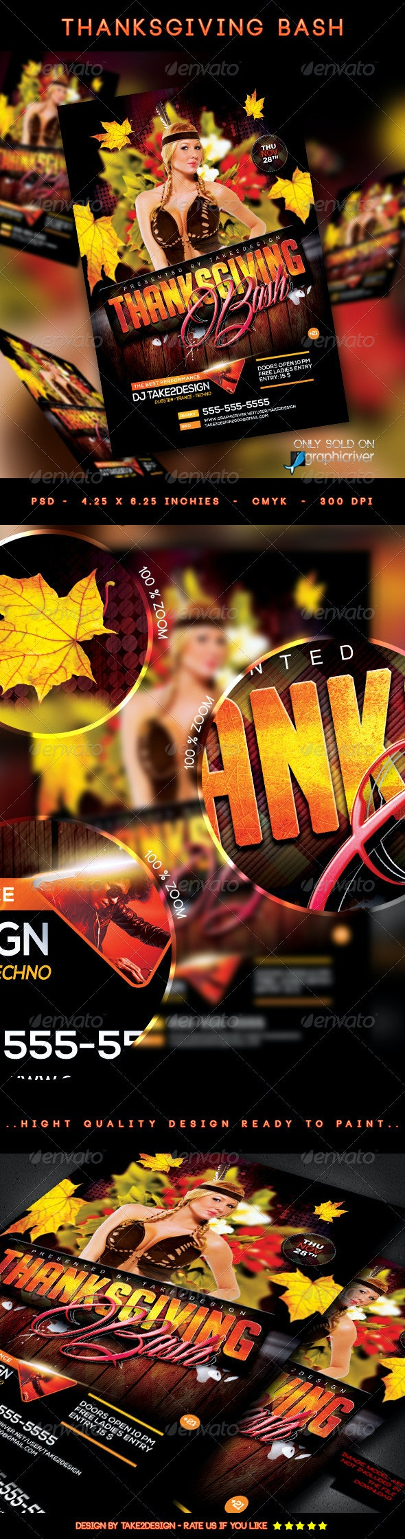 ThanksGiving Bash - Clubs & Parties Events