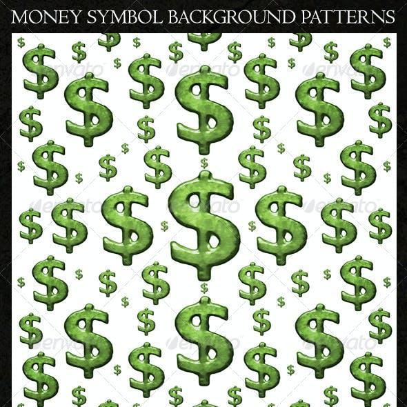 Money Symbol Background Patterns