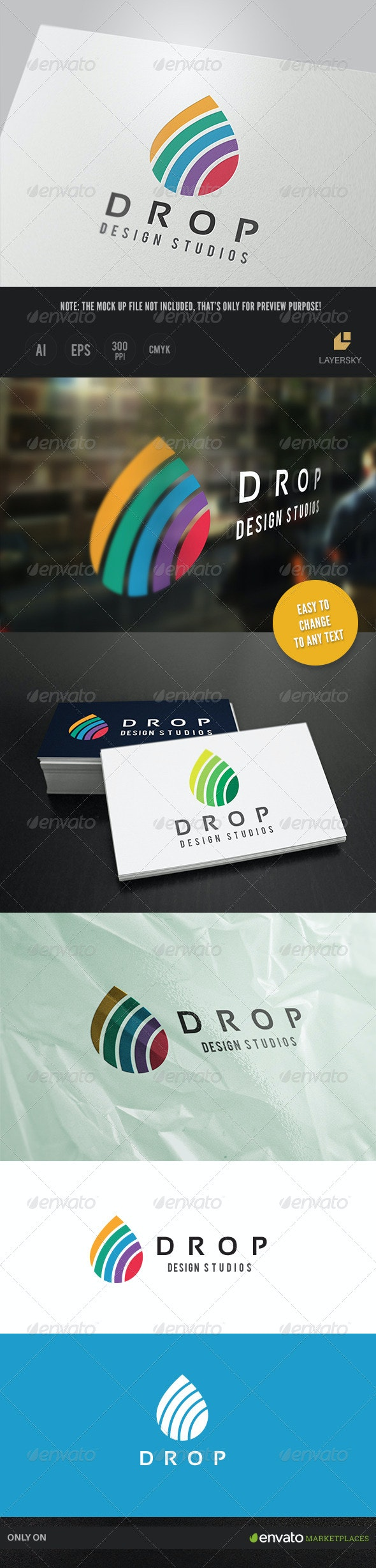 Drop Design Studios - Nature Logo Templates