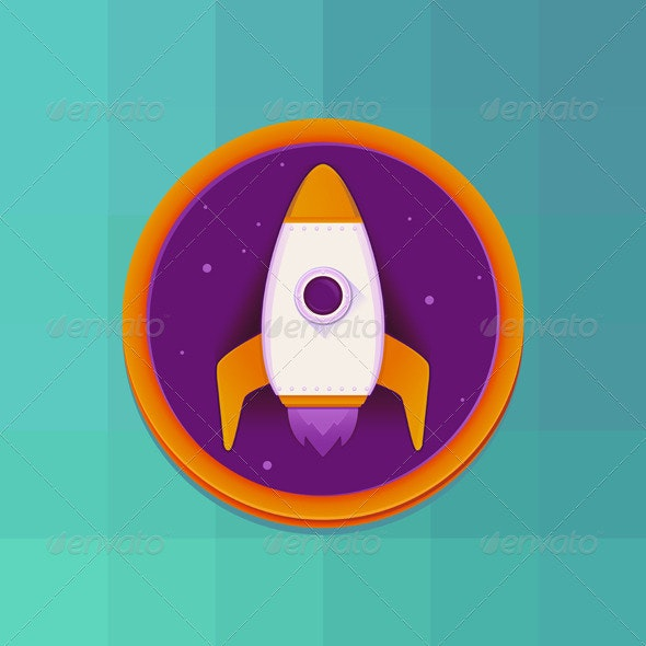Vector Start Up Concept in Flat Style - Conceptual Vectors