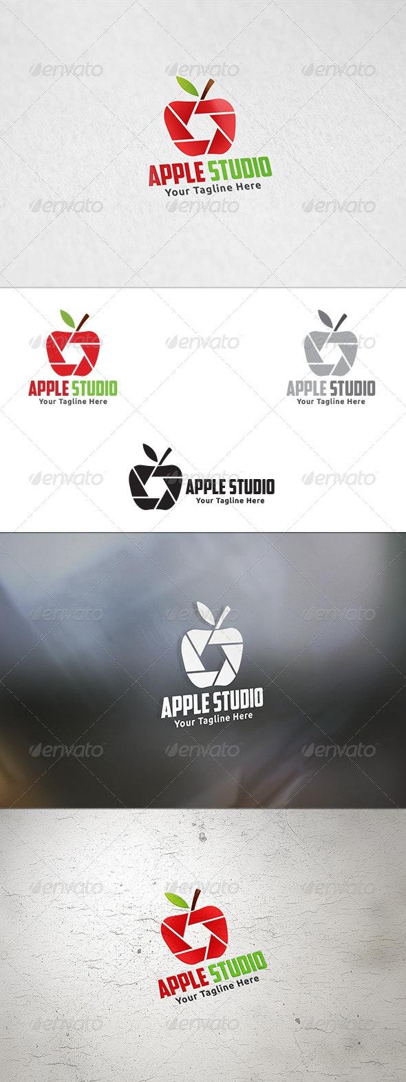 Apple Studio - Logo Template - Nature Logo Templates