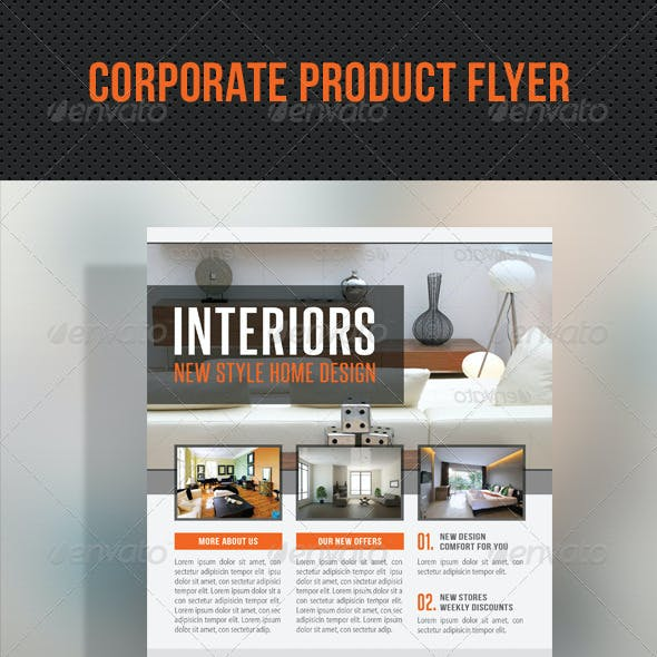 Corporate Product Flyer 97