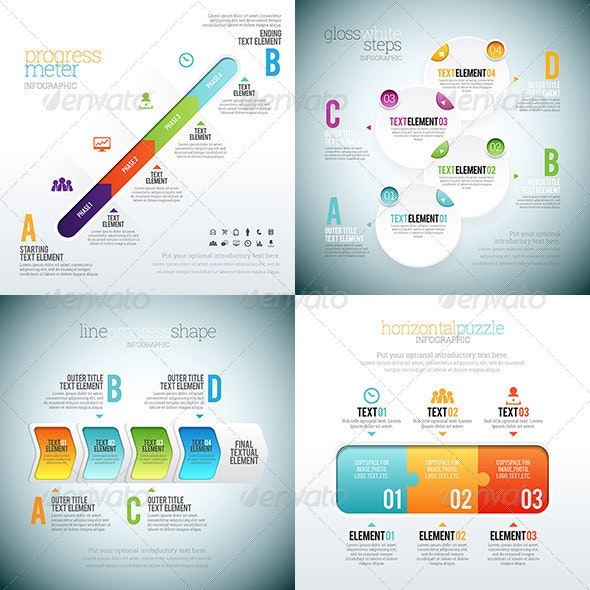 Infographic 1 Set - Infographics